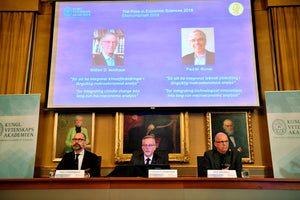 Nobel in Economics Winners Put Spotlight on Climate Change
