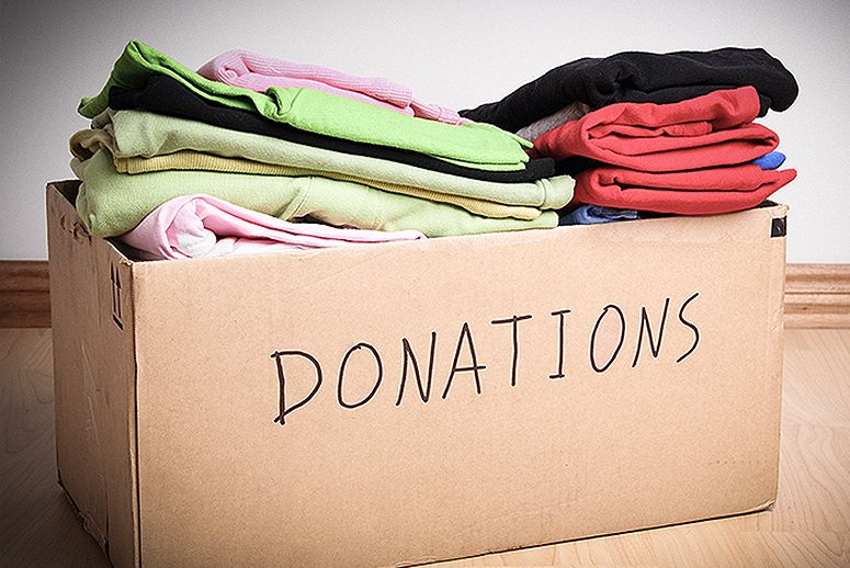 0b7c5d2a2fc893 Donate before buying. It s a great habit to donate before you go off and  buy more.