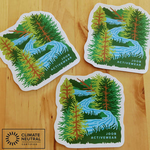 Earth Day 2020 Sticker  - All Proceeds go to Food Gatherers - JOOB Wear