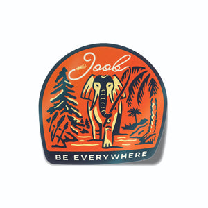 Be Everywhere Sticker - All Proceeds go to Food Gatherers - JOOB Wear