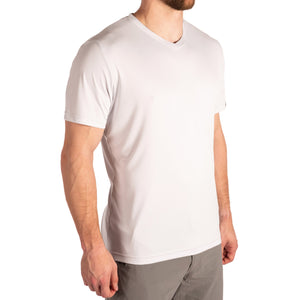 Poly Anna Tee V Neck - JOOB Wear