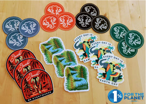 JOOB Stickers – Variety Pack of 21 - All Proceeds go to Food Gatherers - JOOB Wear