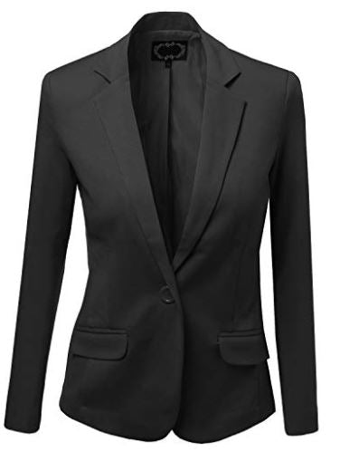 Meet & Greet Mona-Black Blazer Jacket