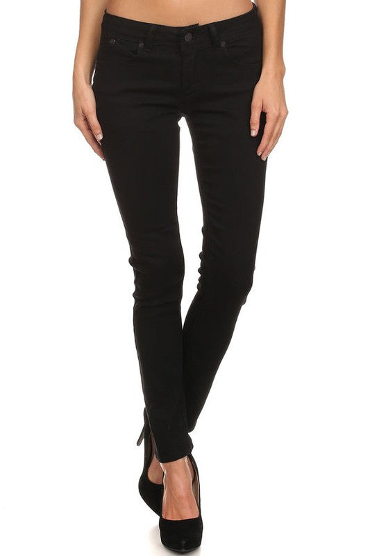 Perfectly Classic Jeans - Black