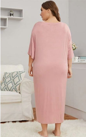 Get UN-Ready With Me Night Gown-Pink