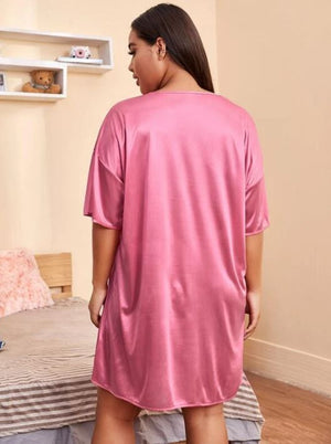 Thou Shall Not Try Me Night Gown