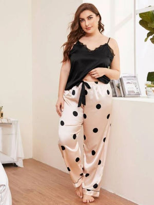 Feeling Pretty PolkaDot PJ Pants Set
