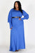 Blue Magic Maxi Dress