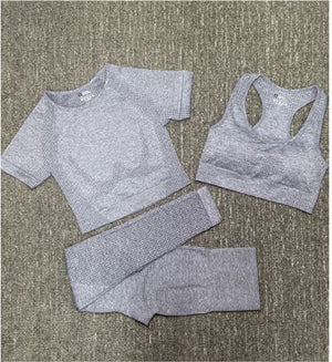Nothing Like It Leisure Set - Grey