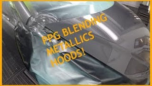 HOW TO BLEND METALLICS ON HOODS