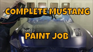 COMPLETE RESPRAY SPECIAL EDITION MUSTANG