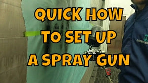 HOW TO SET UP A SPRAY GUN