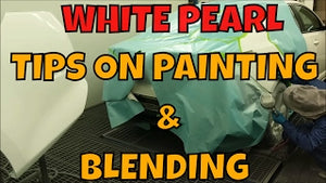 HOW TO PAINT AND BLEND WHITE PEARL