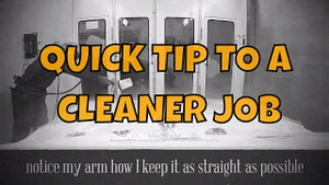 1 SIMPLE TIP TO A CLEANER PAINT JOB