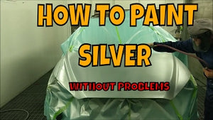 HOW TO PAINT A SILVER PERFECTLY