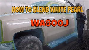 HOW TO BLEND WHITE PEARL