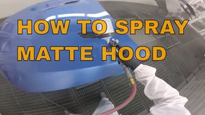 HOW TO SPRAY A MATTE HOOD