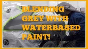HOW TO BLEND AND PAINT GREY COLORS