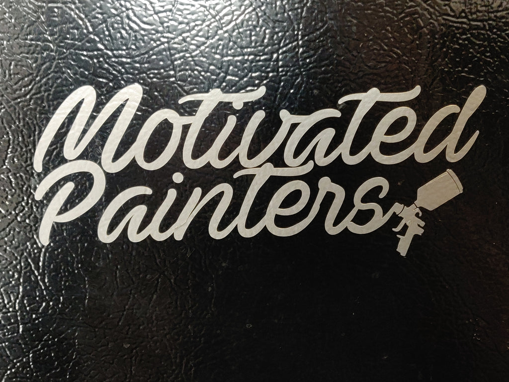 Motivated Painters decal