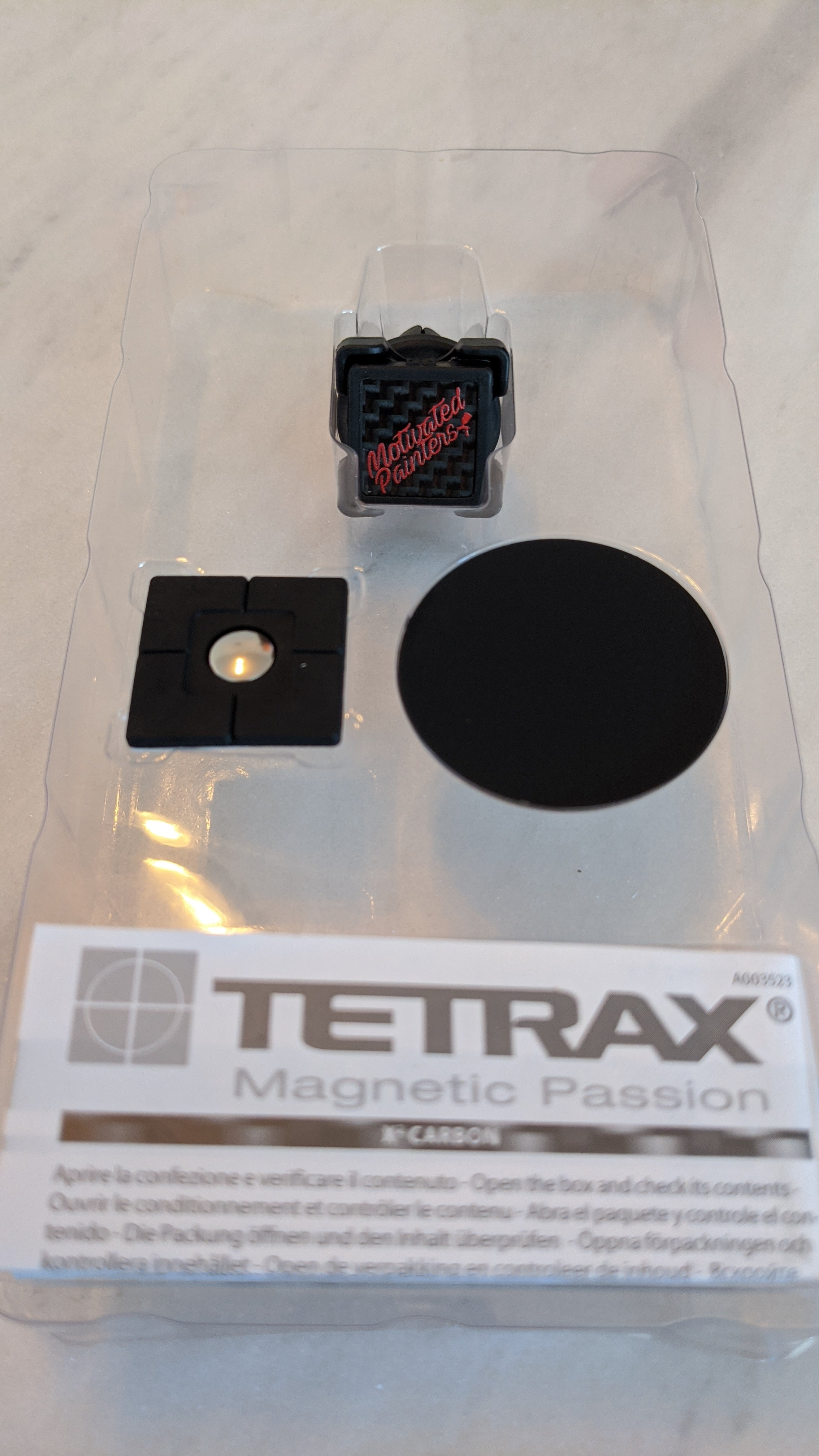 Tetrax Universal Magnetic  phone holder