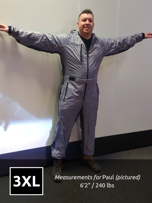 MPSuit - 3XL * SIZE UP FOR BETTER FIT*