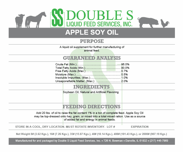 Apple Soy Oil