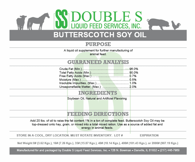 Butterscotch Soy Oil