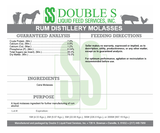 Rum Distillery Molasses