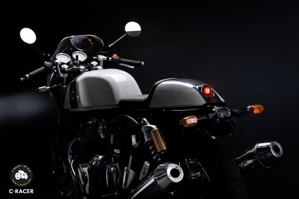selle cafe racer royal enfield continental gt 650