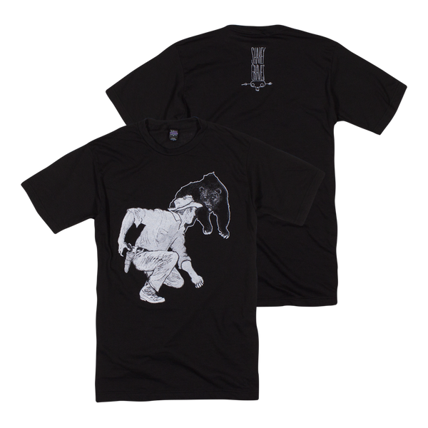 Shakey Graves Bear T-Shirt Black