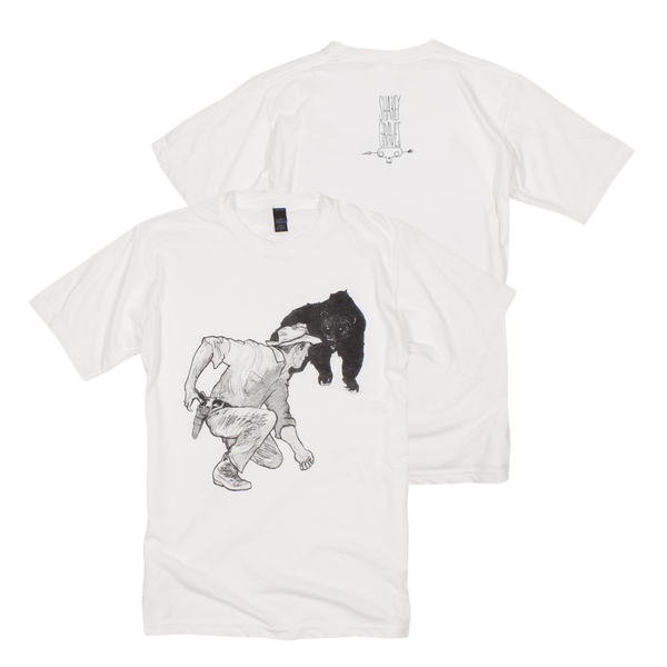 Shakey Graves Bear T-Shirt White