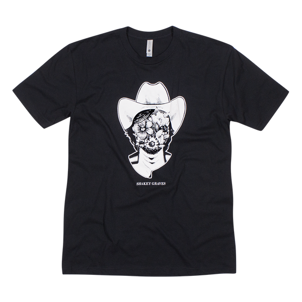Shakey Graves Flower Face T-Shirt