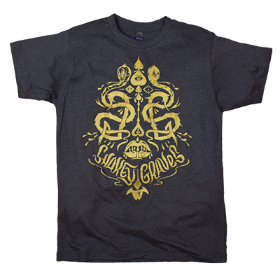 Shakey Graves Gold Camille T-Shirt