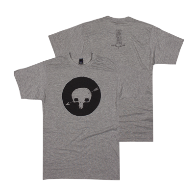 Shakey Graves Gray Skull T-Shirt