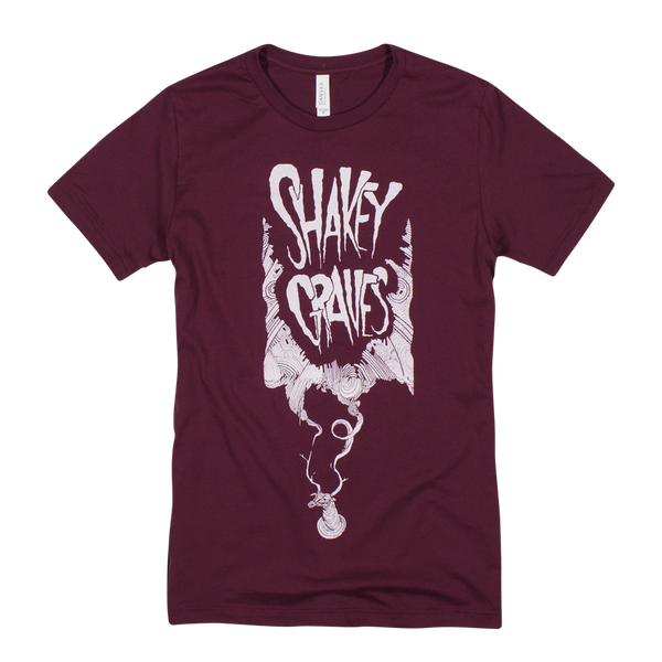 Shakey Graves Red Deer Antler T-Shirt