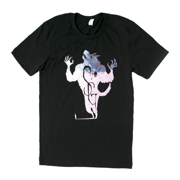 Shakey Graves Big Bad Wolf T-Shirt Black