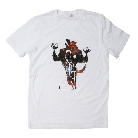 Shakey Graves Big Bad Wolf T-Shirt Red