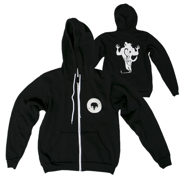 Shakey Graves Big Bad Wolf Zip Hoodie