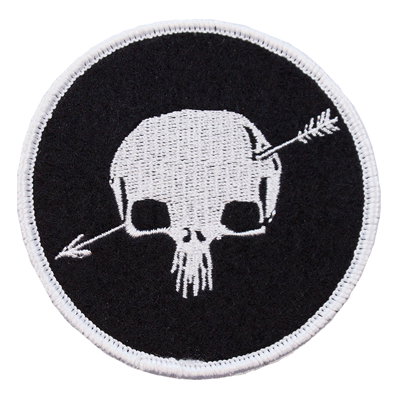 "Shakey Graves Skull Logo 3"" Embroidered Patch"