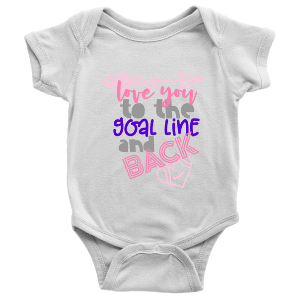 Love You To The Goal Line Bodysuit