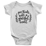 Give Thanks With A Grateful Heart Bodysuit