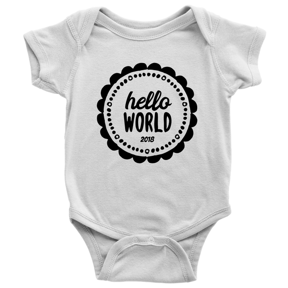 Hello World 2018 Bodysuit