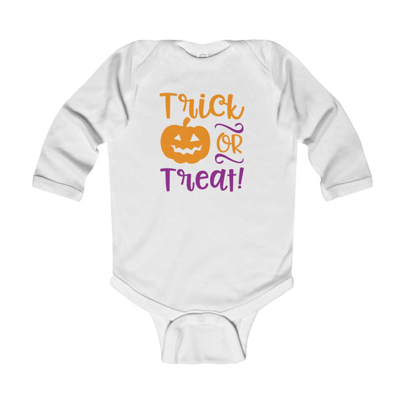 Trick Or Treat Long Sleeve Bodysuit