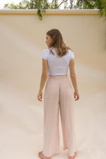 THE BLUSH PLEATED PALAZZO