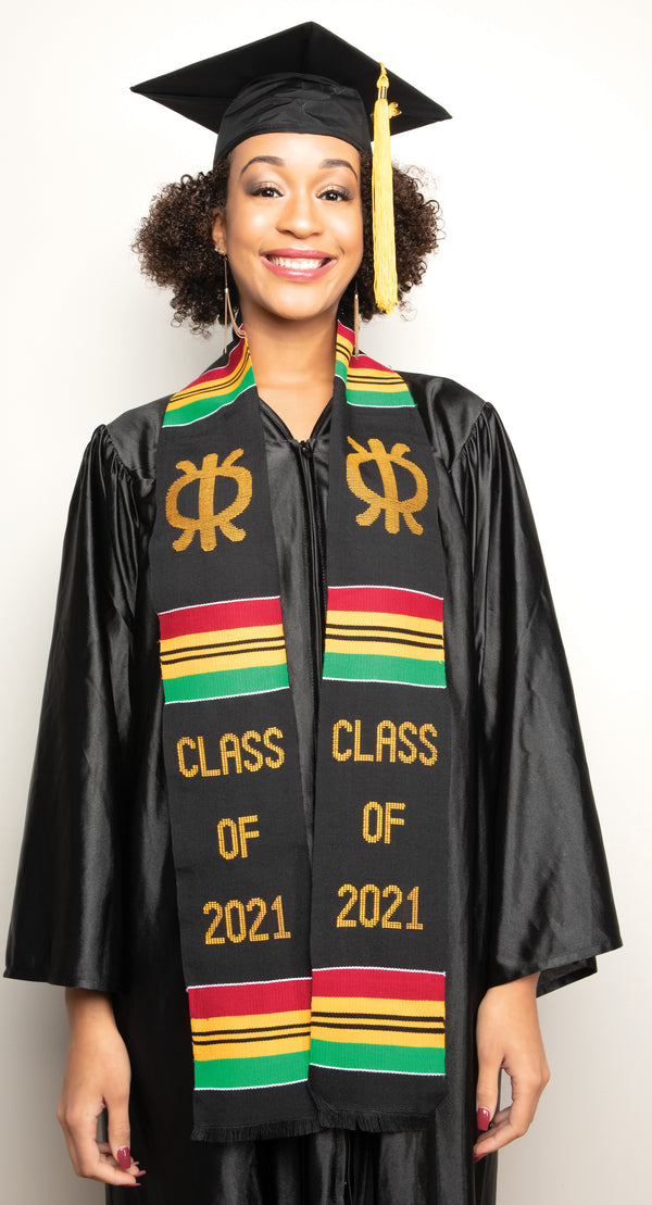 AF20-CLASS OF 2021 KENTE STOLE-PERSERVERANCE