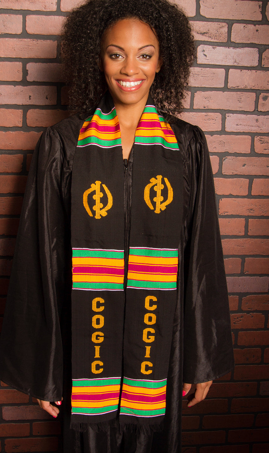 D46-COGIC KENTE STOLE