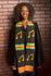 D72-MUSICAL NOTE CHOIR KENTE STOLE