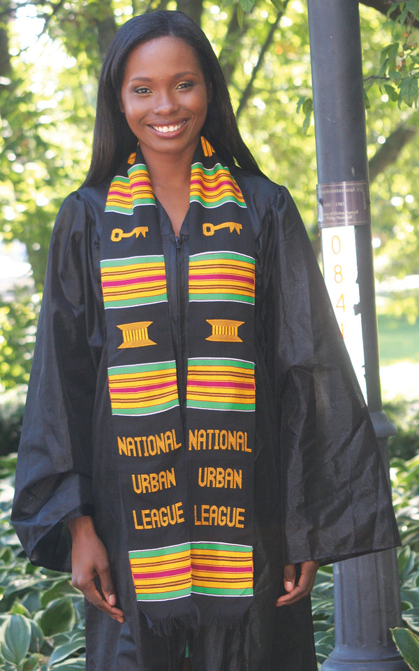 SS12-NATIONAL URBAN LEAGUE KENTE STOLE