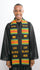 SS14-100 BLACK MEN KENTE STOLE