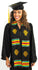 TL11-PLAIN KENTE STOLE-SIAMESE CROCODILE